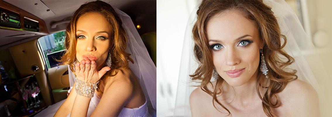 Комплект: Нежный браслет и серьги по мотивам кружев на свадебном платье