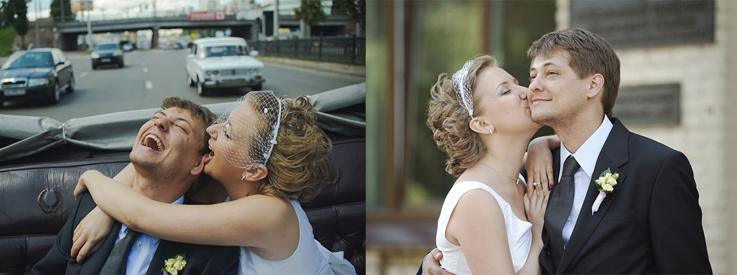Нежная вуаль к короткому свадебному платью