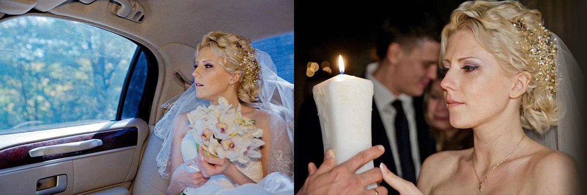 Свадебное украшения для волос